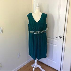 Emerald Green Evening Dress Plus Size Alex Evening